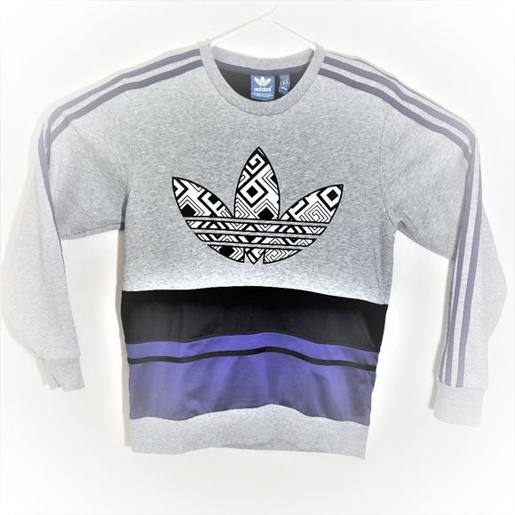 Vintage 90s Adidas Mens Medium Pullover Crewneck
